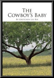 The original cover to The Cowboy's Baby