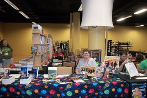 Dealers Room at ArmadilloCon in Austin, Texas 2012