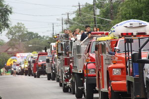 Parading our fire equipment